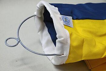 300 cm Vindstrut Blå-Gul