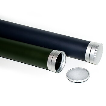 Carbon Rod Tube - Dark Green / Gunsmoke