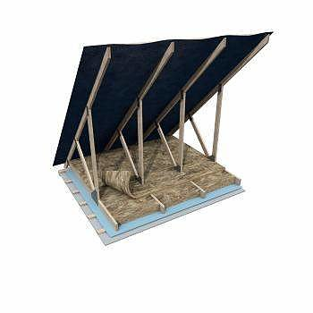Knauf Isolering Träregelskiva 37 CC 600 170 mm