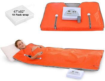 Köp FIR- Infraröd värmesäck för smärtlindring/slimming/detox/lymfdränering