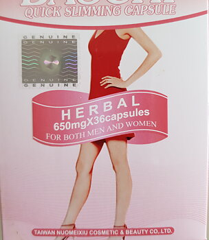 Super Quick Herbal Slimming Green Softgel 36 Capslar