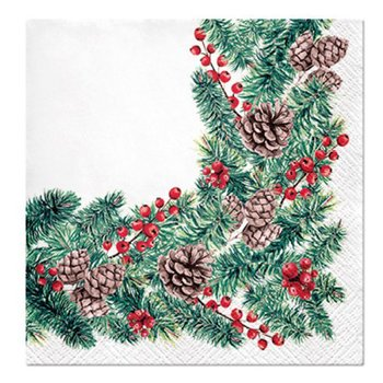 Julservetter VINTERGRENAR Winter Branches 33x33 cm