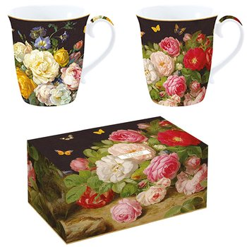 Mugg i box VICTORIAN GARDEN 275 ml 2-set