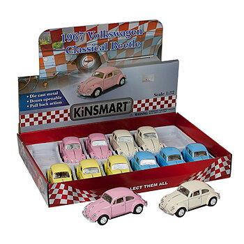 Leksaksbil 1:32 VW Pastell-67
