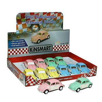 Leksaksbil 1:32 VW Pastell Doors-67