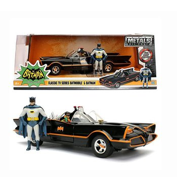 Leksaksbil 1:24 Bil i Box Batmobile 1966