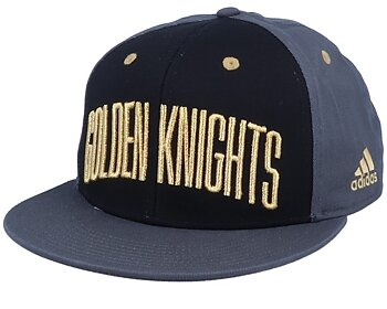 Adidas Flat Brim Snapback Cap - GOLDEN KNIGHTS