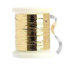Flat Mylar Tinsel Gold/Silver