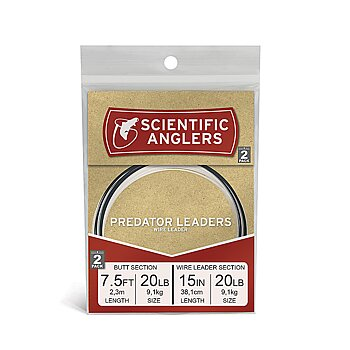 REA Scientific Anglers Predator Leaders 2-PACK