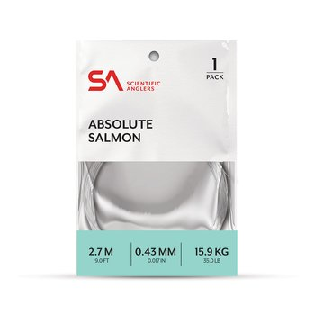 SA Absolute Salmon Leader 9'