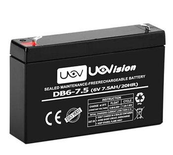 UOVision 6V / 7,5Ah  battery