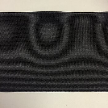 Elastic Black 100mm TU100