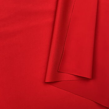 Swimwear fabric matte Sporting Red