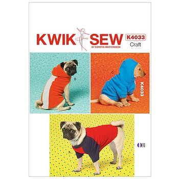 K4033 - Hund-hoodie och hund-t-shirt
