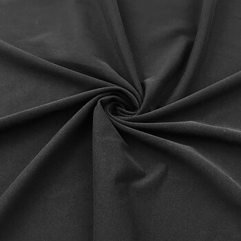 Stretch fabric peached CA624 Black