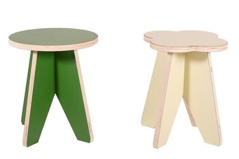 FOREST CHILDREN`S  FURNITURE - STOOL - 2-PACK