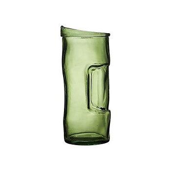 Glaskanna Säck Grön