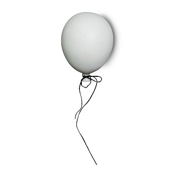 Balloon decoration white