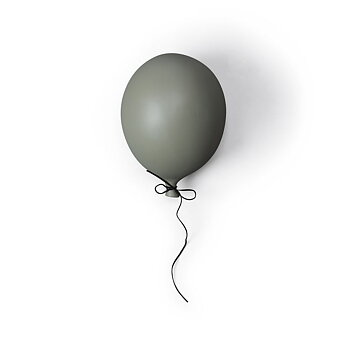 Balloon decoration green