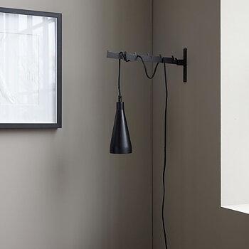 Lampa Jammu 3m lång kabel Svart