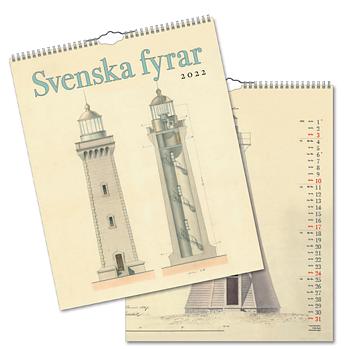 Väggkalender Svenska Fyrar 2022