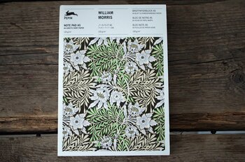 Anteckningsblock/brevpapper William Morris