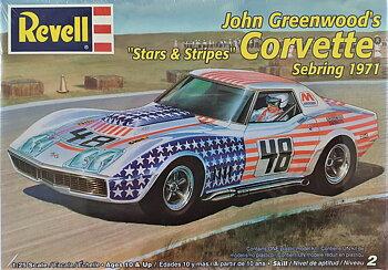 Chevrolet Corvette Sebring 1971, Stars & Stripes - Revell