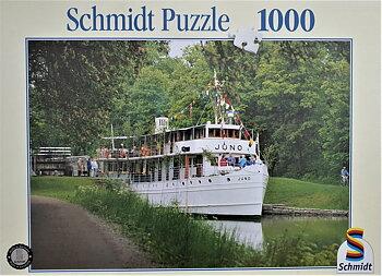 Schmidt, Pappussel, Göta Kanal, 1000 bitar