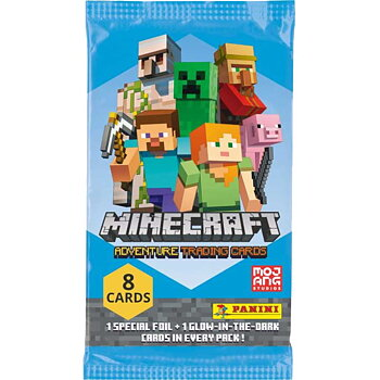 Minecraft, Adventure Trading Cards - Panini