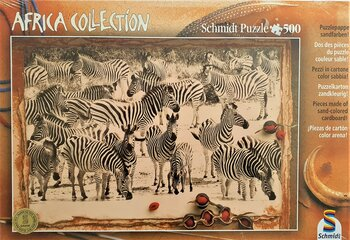 Schmidt, Pappussel, Africa Collection, Zebror, 500 bitar