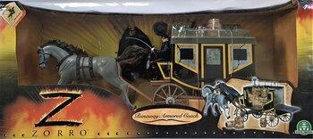Zorro, Runaway Armored Coach