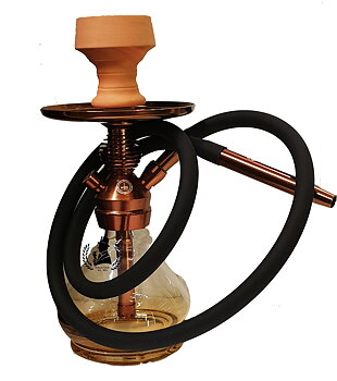 Hookah Al Rasheed Bronze/Gold