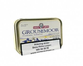 Samuel Gawith Grousemoor - Mixture -  50 gr
