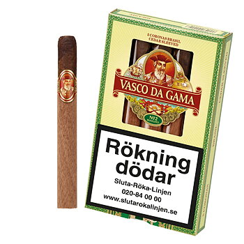 Vasco Da Gama Corona Maduro 5 st