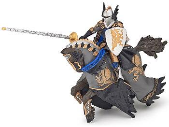 Dragon Prince on Horse black