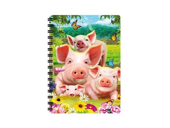 Notebook 3D Pig Pen small
