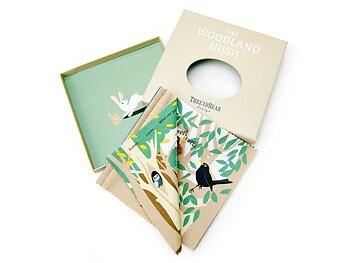 Rag book Woodland hush