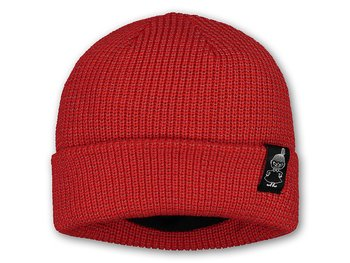 Reflector beanie red