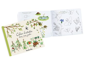 Activity book Le Jardin