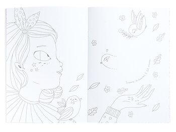 Coloring book Les Parisiennes