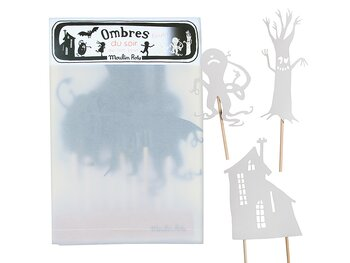 Shadow Figures Monsters (glow-in-the-dark)