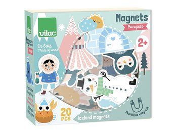 Magnets 'snow animals' Michelle Carlslund