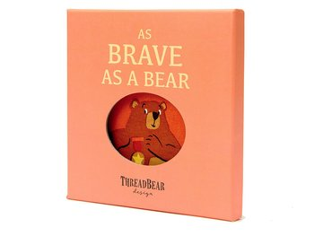 Rag book Brave as a bear