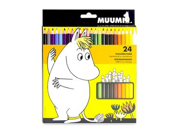 Colored pencils Moomin