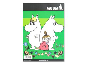 Drawing pad Moomin A4