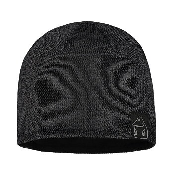 Reflector beanie adults black