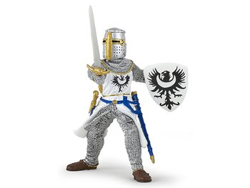 Knight white with sword