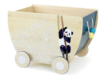 Pull-along cart 'Canopée'