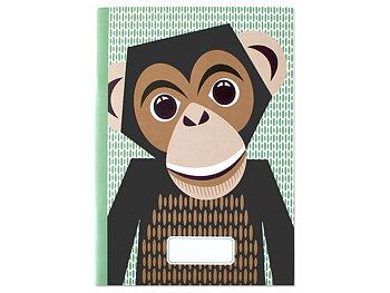 Anteckningsbok schimpans EKO