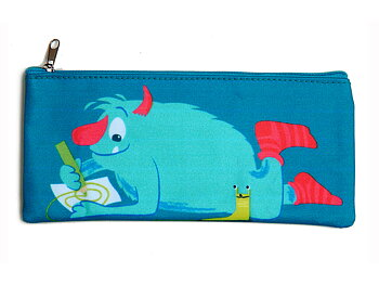 Pencil case 'Scruffles' matte laminated